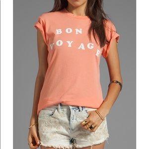 Wild Fox Bon Voyage short sleeve tee size L NWT